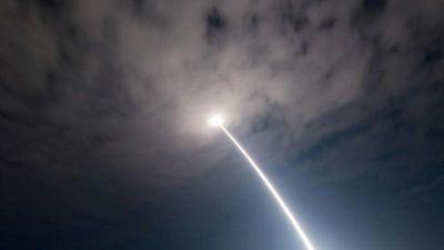 Mỹ phóng tên lửa đạn đạo bay hơn 500km