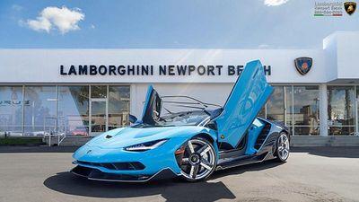 Siêu xe Lamborghini đặc biệt lấy cảm hứng từ Bugatti Chiron