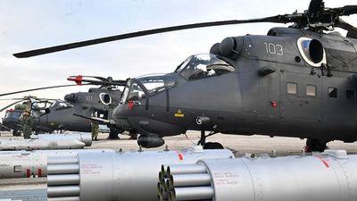 Liên tiếp nhận 4 siêu trực thăng chiến đấu Nga, quân đội Serbia 'vớ bẫm'
