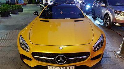 Mercedes-AMG GT S Edition-1 hơn 8 tỷ trên phố Sài Thành