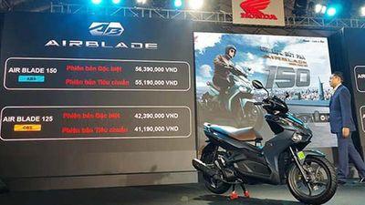 Cận cảnh Honda Air Blade 150 từ 55,19 triệu tại Việt Nam