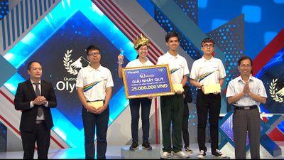 Nữ sinh Ninh Bình xuất sắc giành vé vào chung kết Đường lên đỉnh Olympia