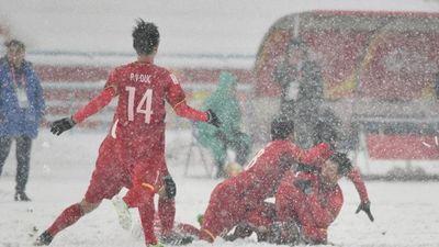 Siêu phẩm 'cầu vồng trong tuyết Thường Châu' của Quang Hải là biểu tượng U23 châu Á