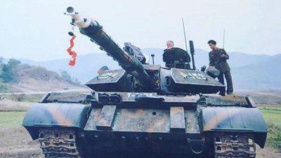 Ảnh hiếm: Siêu tăng T-54 Việt Nam dùng cỡ nòng 105mm đắt đỏ trong quá khứ