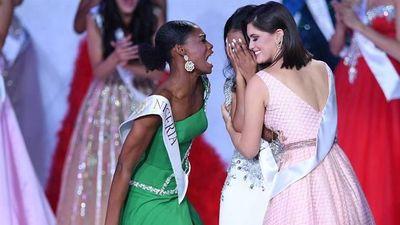 Khoảnh khắc Hoa hậu Nigeria nhảy cẫng ăn mừng chiến thắng của 'đối thủ' gây sốt toàn cầu