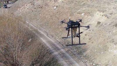 Bất ngờ UAV trang bị súng máy cực nguy hiểm của Thổ Nhĩ Kỳ