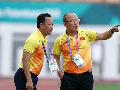 HLV Park Hang Seo sẽ không có được sự trợ giúp của trợ lý ngôn ngữ Lê Huy Khoa ở AFF Cup 2018 cuối năm nay.