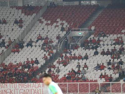 Cảnh tượng đìu hiu đã diễn ra trên các khán đài của sân vận động Gelora Bung Karno trong trận đấu giữa Indonesia và Timor Leste tại AFF Cup 2018.