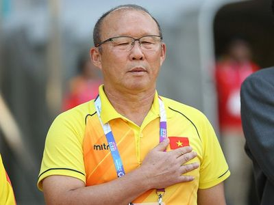 HLV Park Hang Seo hiện chưa đủ điều kiện để có thể dẫn dắt U22 Việt Nam tại SEA Games 30 và vòng loại U23 châu Á 2020.