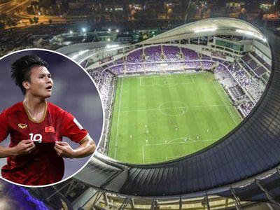 Tối 16.1.2019, trận thi đấu giữa tuyển Việt Nam và Yemen đã diễn ra tại sân vận động ở thành phố Al Ain, một trong những sân hiện đại bậc nhất tại UAE.