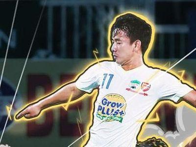 Tiền vệ Trần Minh Vương vượt mặt nhiều tiền đạo để giành danh hiệu không chính thức 'Vua phá lưới nội' trong mùa giải V.League 2019.