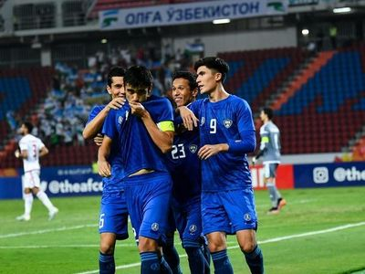 U23 Uzbekistan thắng đậm U23 UAE với tỷ số 5-1 để tiếp tục cuộc đua lấy vé đi Olympic.