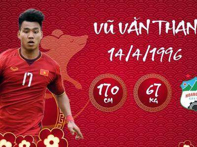 Văn Toàn, Duy Mạnh và Văn Đại là 3 trong số những cầu thủ tuổi Tý điển trai của bóng đá Việt Nam.