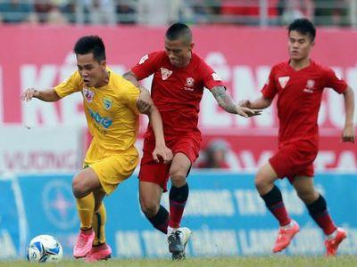 Hải Phòng tập đánh biên để chuẩn bị cho trận đấu với nhà đương kim Á quân TPHCM ở vòng 3 V-League 2020.