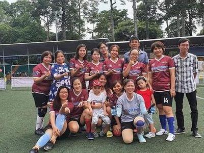Sau 2 tuần tranh tài sôi nổi, sáng ngày 4-7, Giải bóng đá Hội nhà báo TP.HCM năm 2020 đã chính thức khép lại trên sân trung tâm thể thao Tao Đàn, quận 1.