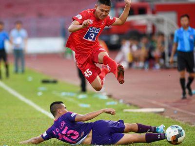 CLB Sài Gòn chơi hiệu quả và tận dụng tối đa cơ hội để đánh bại chủ nhà Hải Phòng ở trận đấu thuộc vòng 8 V.League diễn ra chiều 5/7.