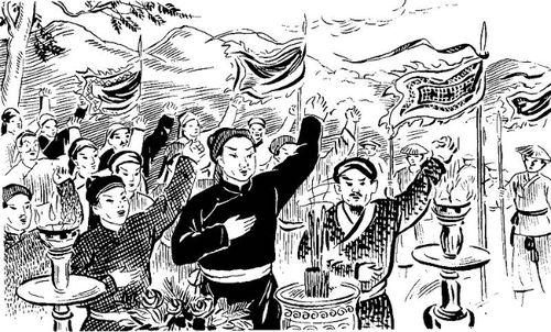 Lam Sơn tụ nghĩa, hội thề Lũng Nhai
