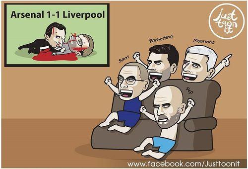 Biếm họa 24h: Trò cưng 'giữ ghế' cho Mourinho, Thanh Trung gặp đen đủi