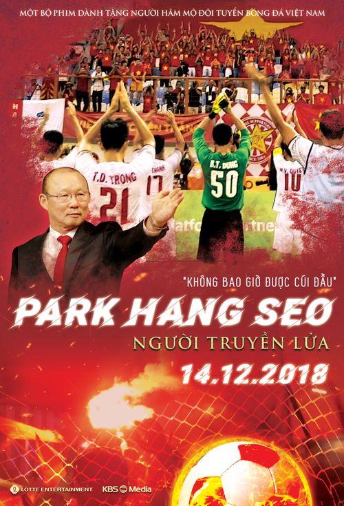 Ra mắt phim tài liệu về HLV Park Hang-seo do người Hàn thực hiện