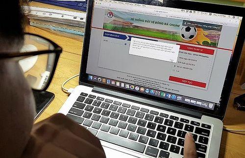 Dự kiến ngày 10-12 mở bán vé online trận chung kết Việt Nam - Malaysia