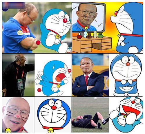 Những bức ảnh vui về 'phù thủy' Park Hang Seo ngập tràn Facebook