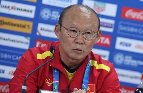 HLV Park Hang-seo: 'Tuyển Việt Nam sẽ có kết quả tốt nhất trước Iran'