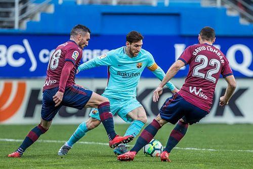 Barca vs Eibar: Gia tăng cách biệt