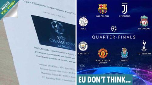 Nóng: Lộ kết quả bốc thăm tứ kết Champions League, một cặp đấu khủng