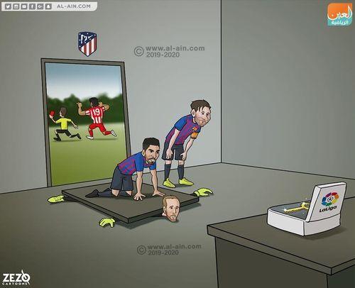 Biếm họa 24h: MU run sợ Barca, Arsenal 'gục ngã' trước Everton