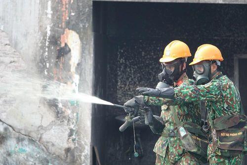 Giải quyết hậu quả vụ cháy Nhà máy Rạng Đông