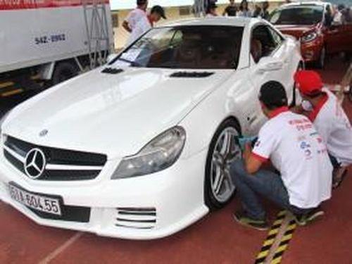 300 chiếc xe được Bệnh viện ô tô chăm sóc toàn diện