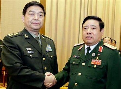 Đoàn Đại biểu Quân sự cấp cao Việt Nam thăm Trung Quốc