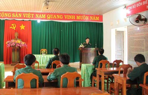 Kiểm tra công tác tuyên truyền, PBGDPL tại BĐBP Tây Ninh