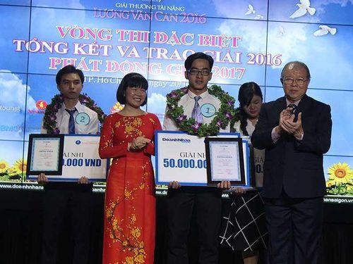 Giải thưởng tài năng Lương Văn Can có chủ