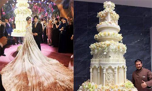 Đám cưới triệu đô giật mình của con gái ông trùm dầu mỏ Nga