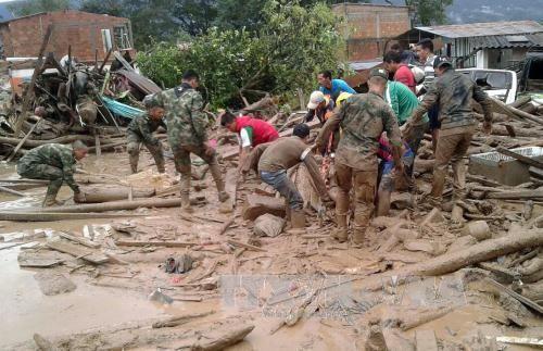 Colombia nỗ lực cứu trợ nạn nhận vụ lở đất