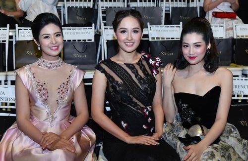 Dàn hoa hậu, á hậu khoe sắc trong show thời trang Hoàng Hải