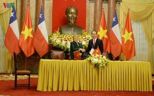 Tiếp tục làm sâu sắc hơn nữa mối quan hệ đối tác toàn diện Việt Nam-Chile