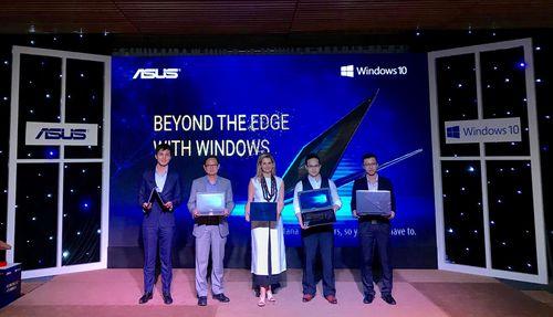 Toàn bộ máy tính Asus sẽ được cài sẵn Windows 10 bản quyền