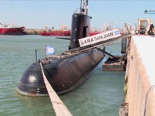 Tàu ngầm mất tích của Argentina đã phát đi 7 cuộc gọi bất thành
