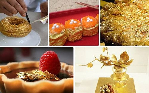 Những món ăn dát vàng dành cho 'thượng đế' giàu sang