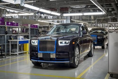 Đấu giá siêu xe sang Rolls-Royce Phantom 2018 tiền tỷ