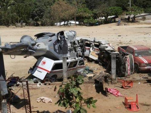 Mexico: 13 người chết trong vụ rơi trực thăng chở Bộ trưởng Nội vụ
