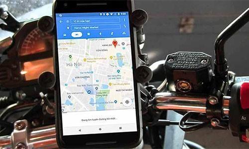 Google Maps ra mắt tùy chọn cho xe máy tại Việt Nam