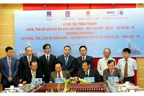 PVN ký kết các hợp đồng phát triển dự án Sao Vàng – Đại Nguyệt
