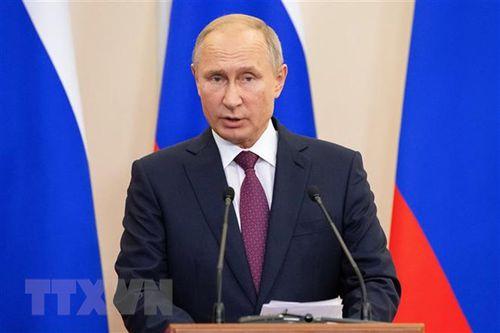 Tổng thống Putin ký nghị định về tổ chức 'Năm nước Nga tại Việt Nam'