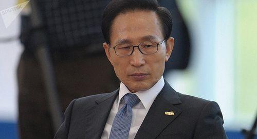 Cựu Tổng thống Hàn Quốc Lee Myung-bak chính thức nhận án tù