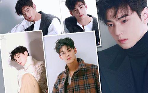 Loạt ảnh đẹp 'rụng tim' của Cha Eun Woo (ASTRO) trên tạp chí Elle Korea tháng 10 mà bạn không xem sẽ tiếc