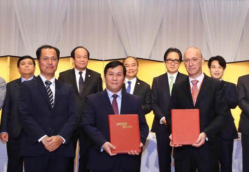 Vietjet ký kết thỏa thuận tài trợ vốn phát triển đội tàu bay trị giá hơn 1,2 tỷ USD tại Nhật Bản