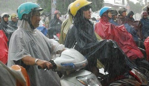 Cảnh báo mưa dông tại các tỉnh miền núi do ảnh hưởng của không khí lạnh